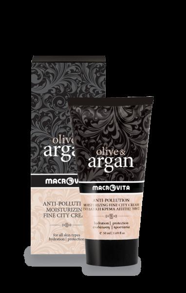 crema antipoluare cu argan