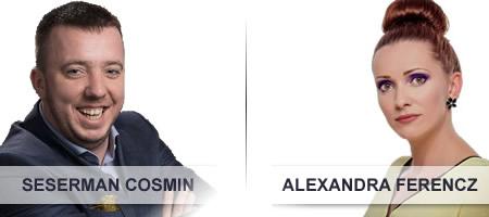 Echipa Biospot - Alexandra Ferencz si Seserman Cosmin